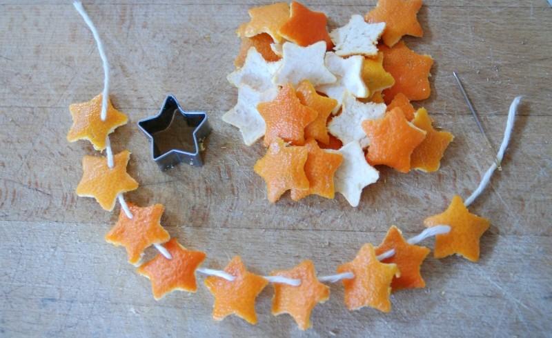 buccia arancia creativa