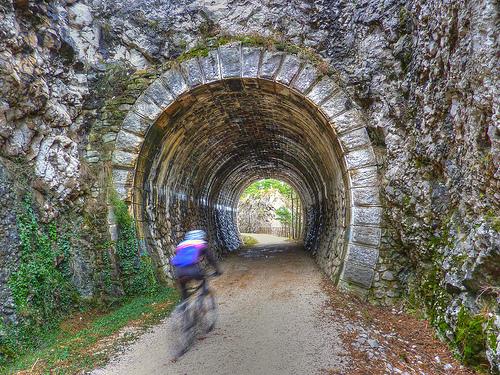 greenways ferrovia dismessa della Val Rosandra