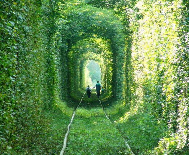 rotaie verdi tunnel of love