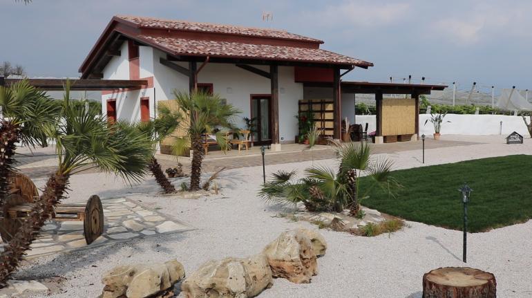 Casa Mattia è il primo B&B in paglia di tutta la regione Lazio