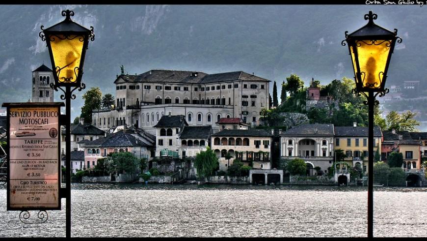 Lago d'Orta, vacanze senza auto