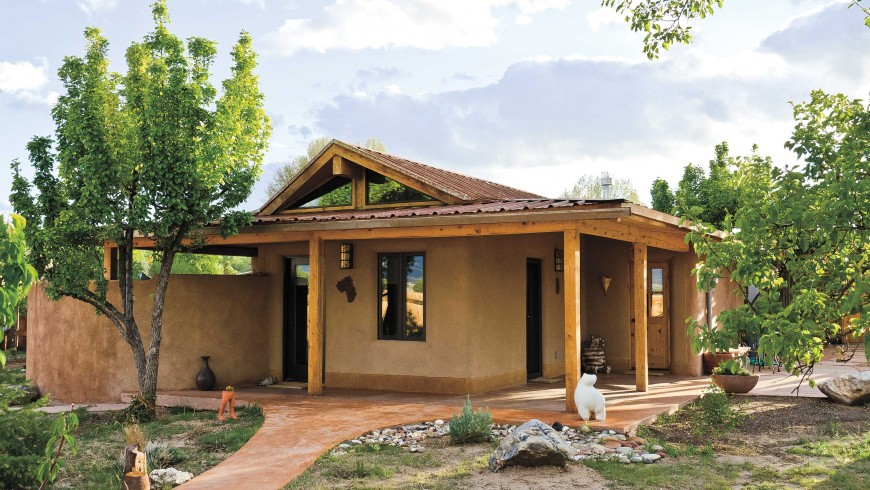 Casa in paglia