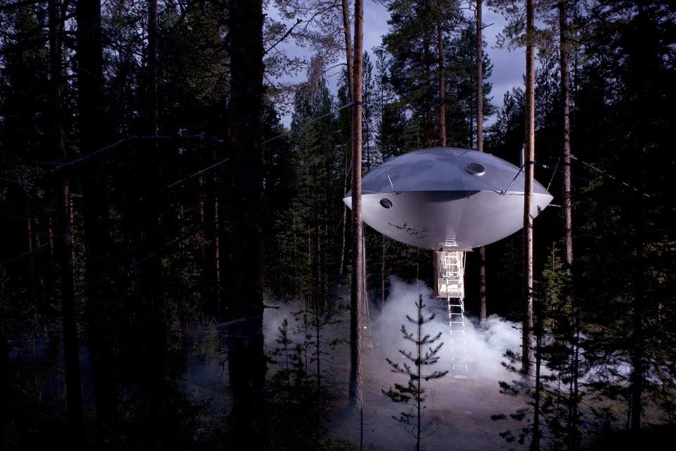 Casa sull'albero The UFO