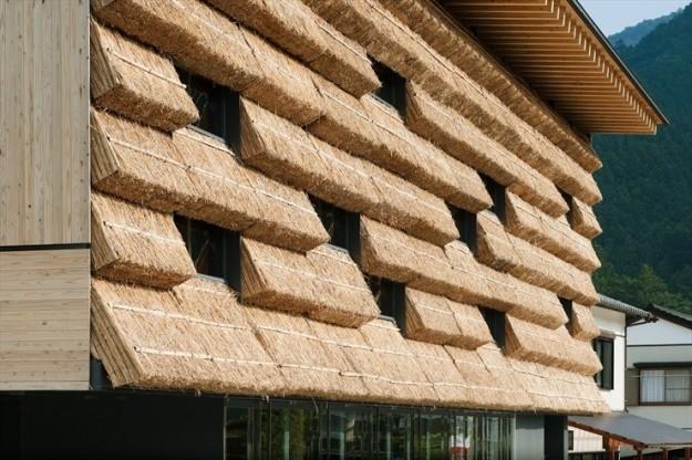Architettura di paglia Kengo Kuma