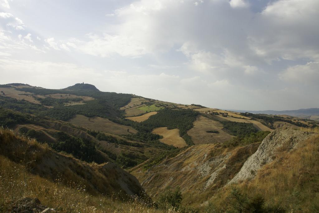 Val d'Orcia a pedi, via Francigena