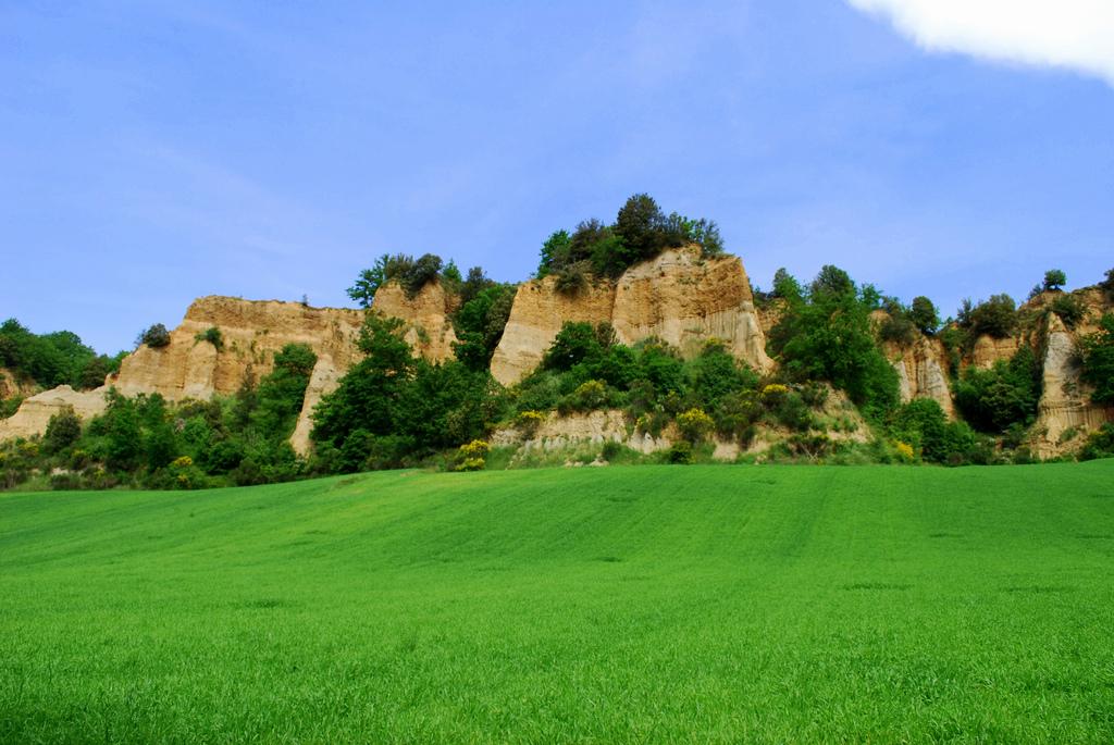 Canyon Italia, Balze di Valdarno