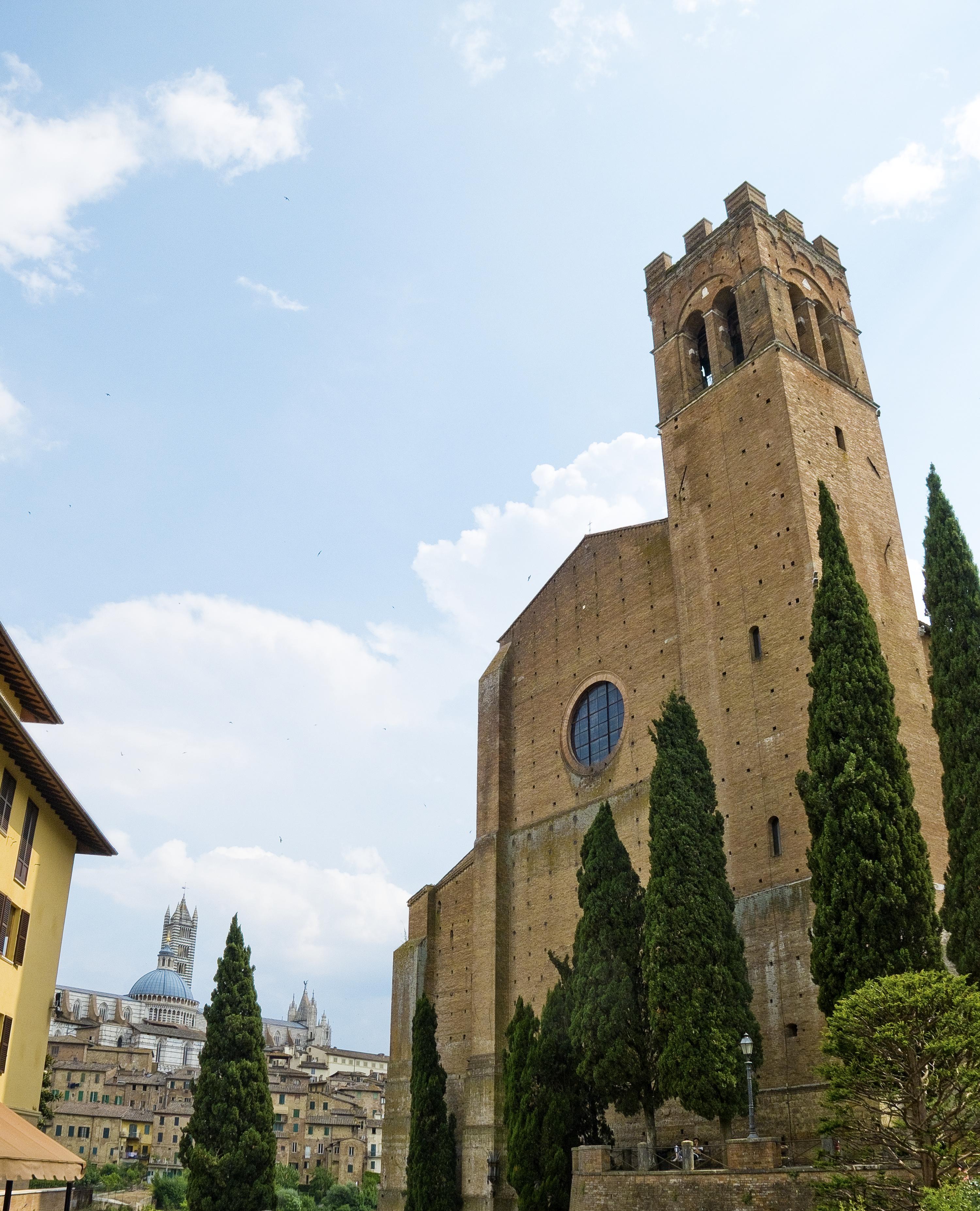 Basilica di San Domenico, Siena, foto di francesca Pelagatti