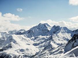 Paesaggio Alpino dal vostro igloo