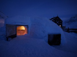 Igloo in Val Senales