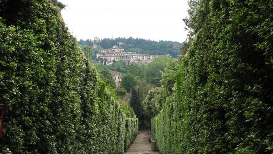 Labirinto del giardino dei Boboli a Firenze, foto di Craig Thomas78, via flickr