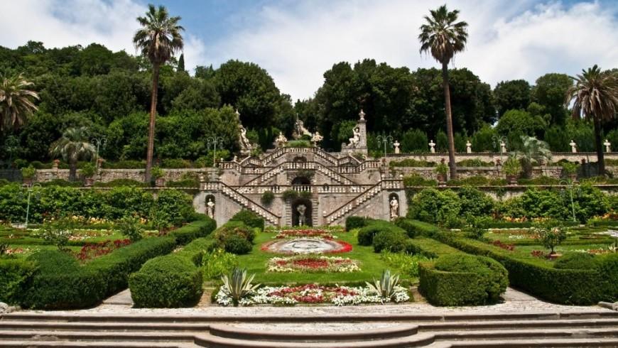 Villa Garzoni, con il suo giardino e labirinto