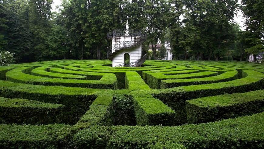 Labirinto di villa Pisani, Veneto