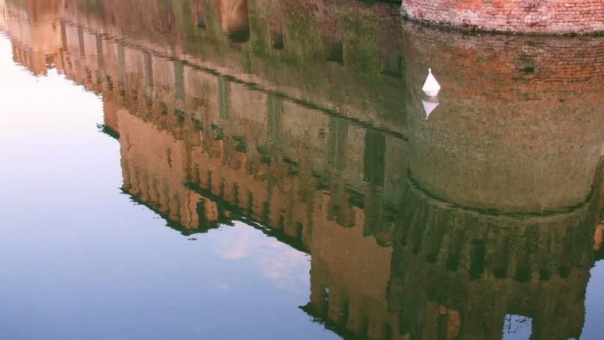 Rocca di Fontanellato, foto di Kliò,via flickr
