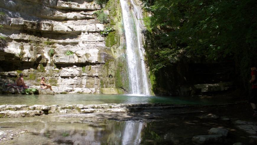 Cascata dell'Acquacheta, foto di magostinelli, via flickr