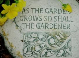 Il giardino crescerà come il suo giardiniere