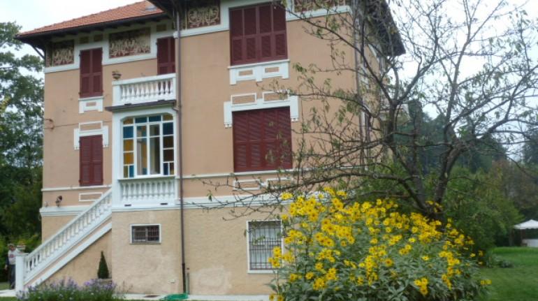 Casa in villa Marest; Sassello, Parco del Beigua