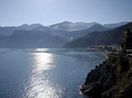 La costa di Amalfi ed il mare