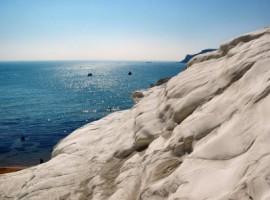 La scala dei Turchi ed il mare di Sicilia