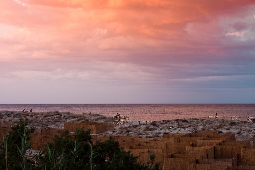 Le dune della spiaggia di Posada, Sardegna