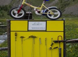 Punti di assistenza bicicletta per ciclisti