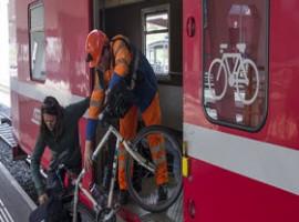 Bicicletta e treno