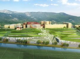 Progetto Manifattura, firmato dall'architetto Kengo Kuma, la manifattura si trasforma in polo di innovazione green