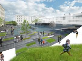 Da Manifattura Tabacchi a Green Factory, progetto architettonico di Kengo Kuma