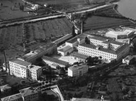 Manifattura Tabacchi di Rovereto, foto storica di una delle industrie di Tabacco più importanti d'Europa