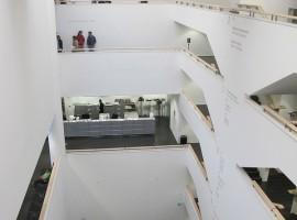 Uno dei musei di arte contemporanea più importanti d'Italia, il MART di Rovereto, progettato dall'architetto Mario Botta