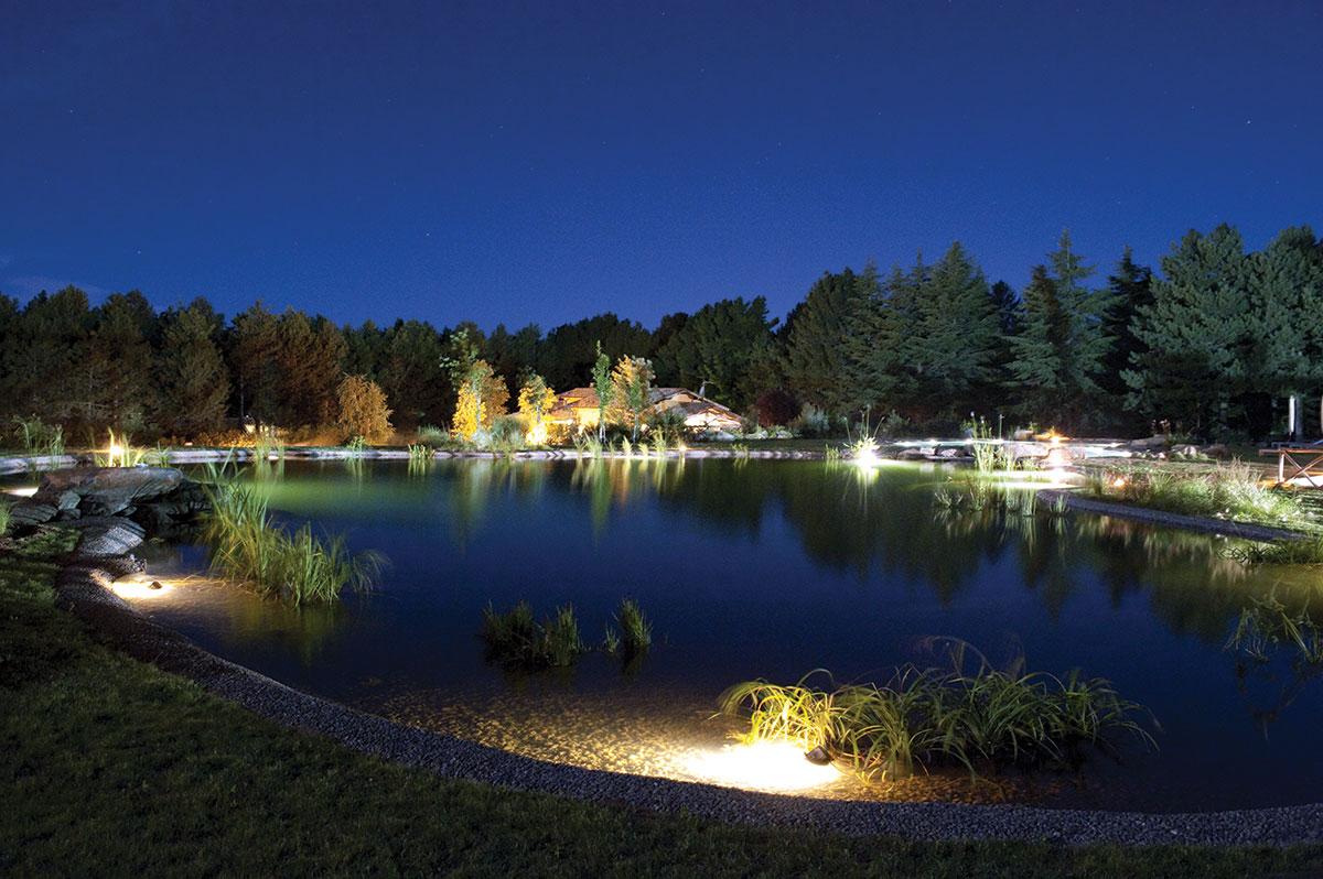 Biopiscina nel Parco dei Cimini