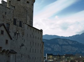 Trento, montagne e castello