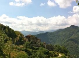 Borgo rocchetta, vista sul paesaggio circostante