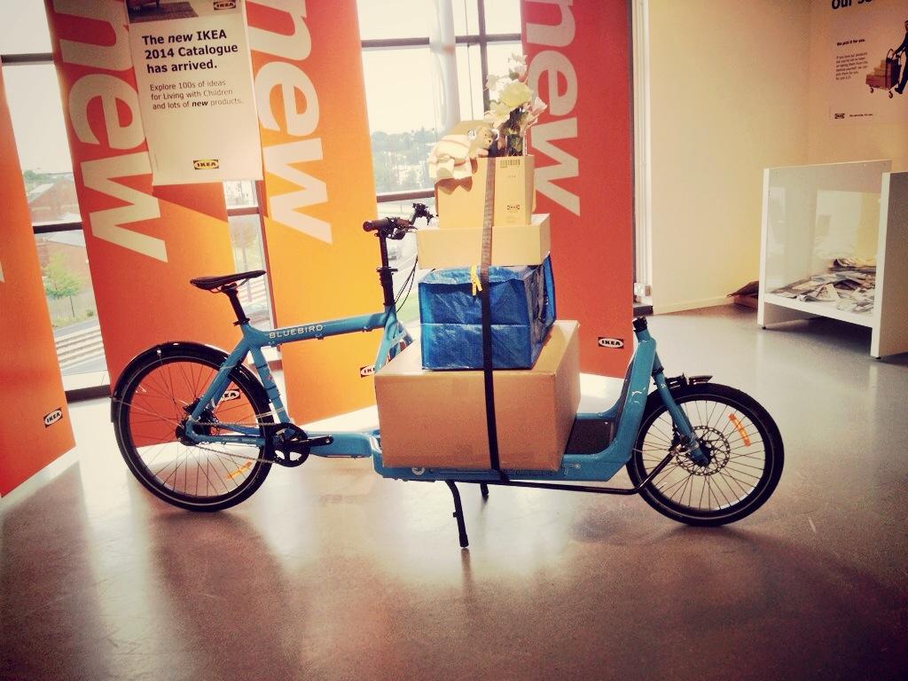 Il cargo bike di Ikea, ad Amburgo