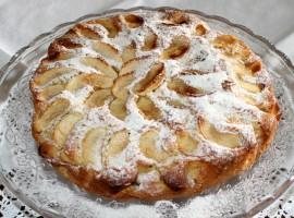 La Torta di mele Biologica di Nonna Tilde, che trovate per colazione al B&B eco Vivere la Vita