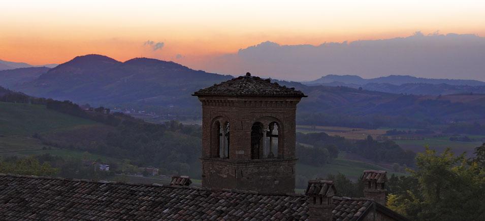 Halloween nei castelli Italiani: Castello di Scipione, Emilia Romagna