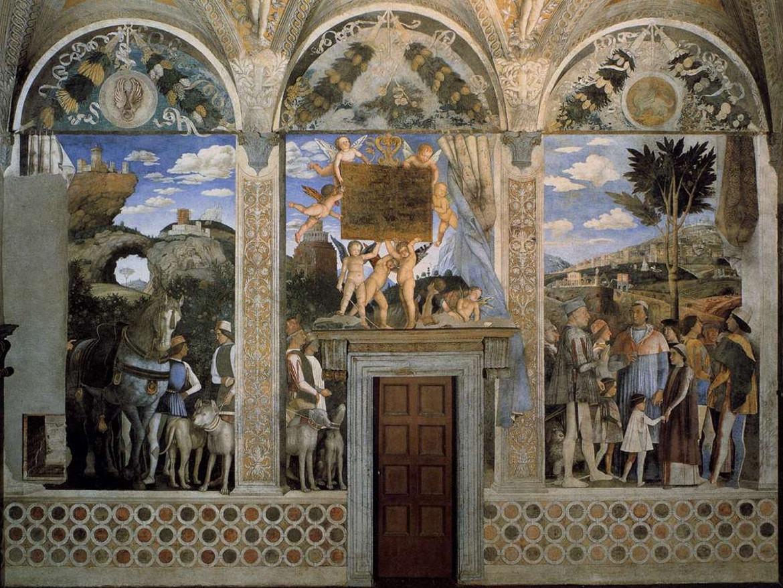 Una parete della camera degli sposi palazzo ducale for Mantova palazzo ducale camera degli sposi