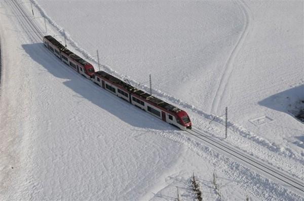 dolomiti express sulla neve