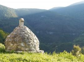 Orto bio in vacanza, Le montagne attorno all'agriturismo La Fonte