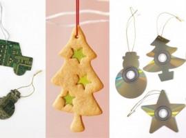 Riuso e riciclo: Decorazioni natalizie con vecchi cd