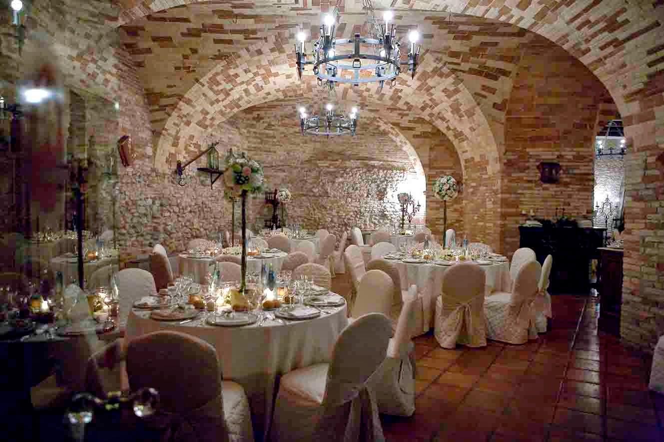 Cena a lume di candela al Castello Chiola, Pescara