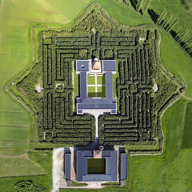 Il labirinto più grande del Mondo, a Fontanellato (Parma), ideato da Franco Maria Ricci, verrà inaugurato nel 2015!