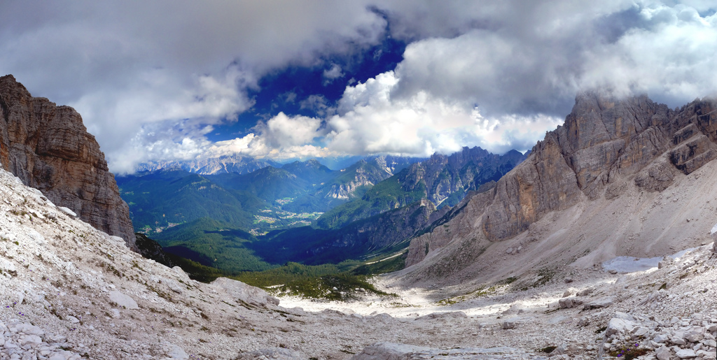 Val di Zoldo da San Sebastiano