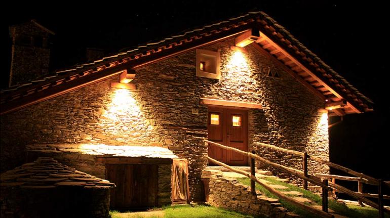 Uno chalet dell'Eco villaggio Sagna Rotonda