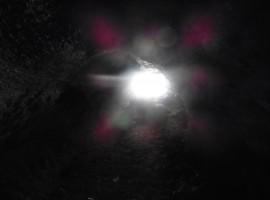 Luce e buio dalla grotta dei pipistelli, Etna