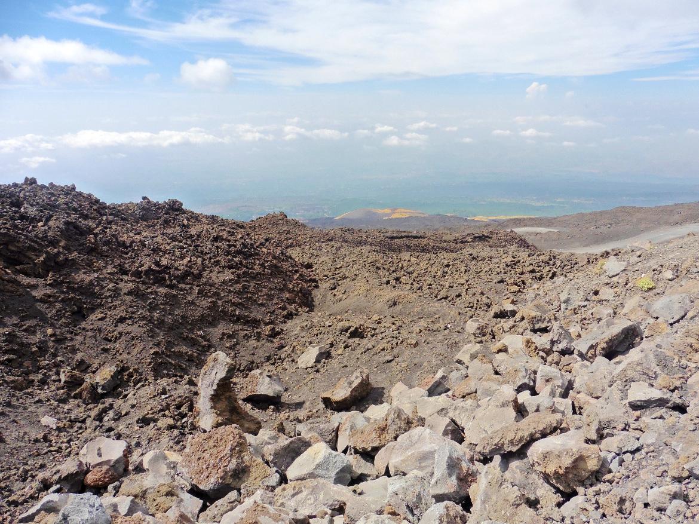 Etna, alla scopeta del vulcano siciliano a piedi