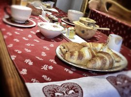 La Maison de Grand Maman colaziones