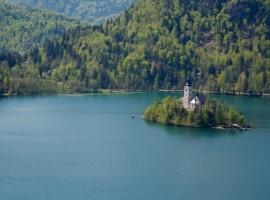 Lago di Bled e il suo isolotto