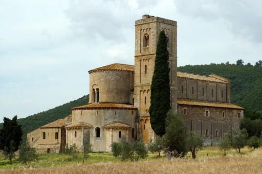 L'abbazia di Sant'Antimo (Siena)