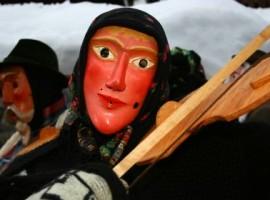 Maschera tipica del carnevale di Sauris