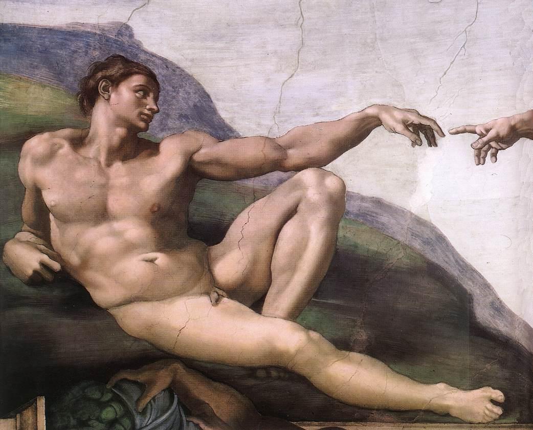I paesaggi di chiusi della verna nella creazione di Michelangelo